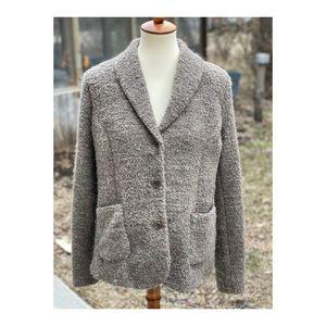 Vintage Bugatti Blazer Wool Alpaca Single Breast